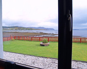View from Caberfeidh bed & breakfast accommodation
